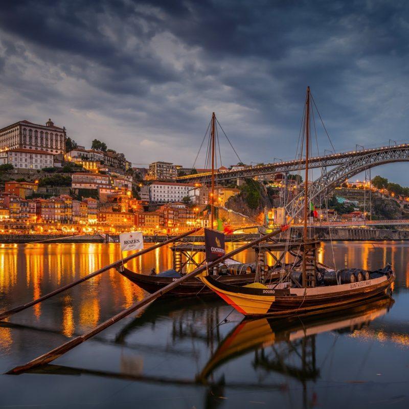 Barcos no Rio Douro